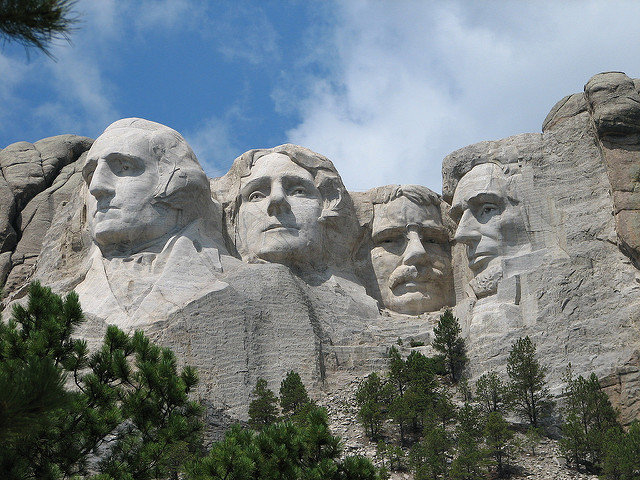 All Four Presidents on Mount Rushmore Would Be Democrats ...