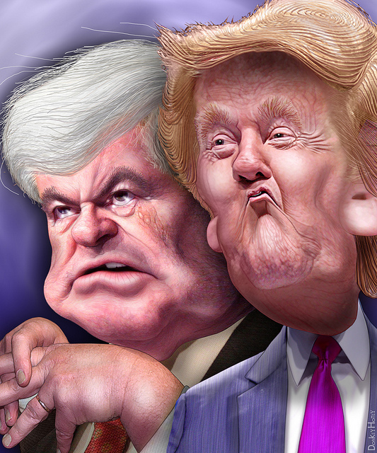 Newt and Trump