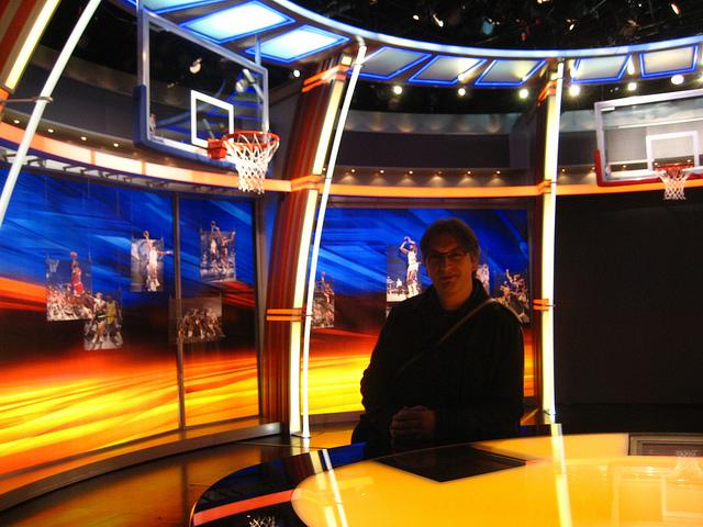 ESPN studio
