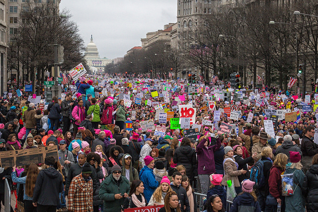 Women's March on DC 1-21-17