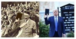 hitler, trump, bible