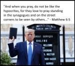 Trump Hypocrite