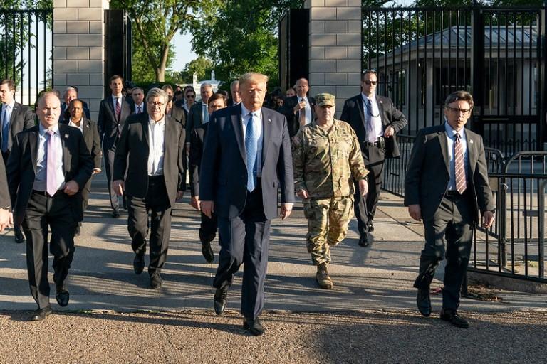 Trump's March against the first amendment